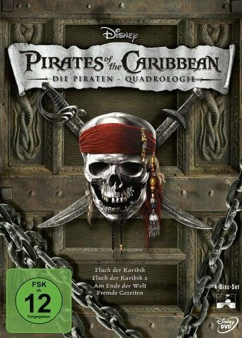 DVD »Pirates of the Caribbean - Die...«