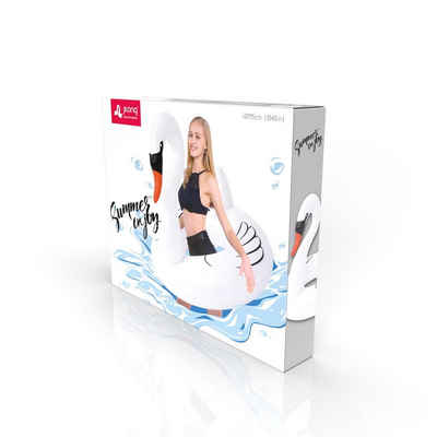 SunClub Schwimmreifen »Schwimmring Schwan« (Packung, Lieferumfang: 1 Schwimmring Schwan), Schwimmring im Schwan Design, 115cm Durchmesser