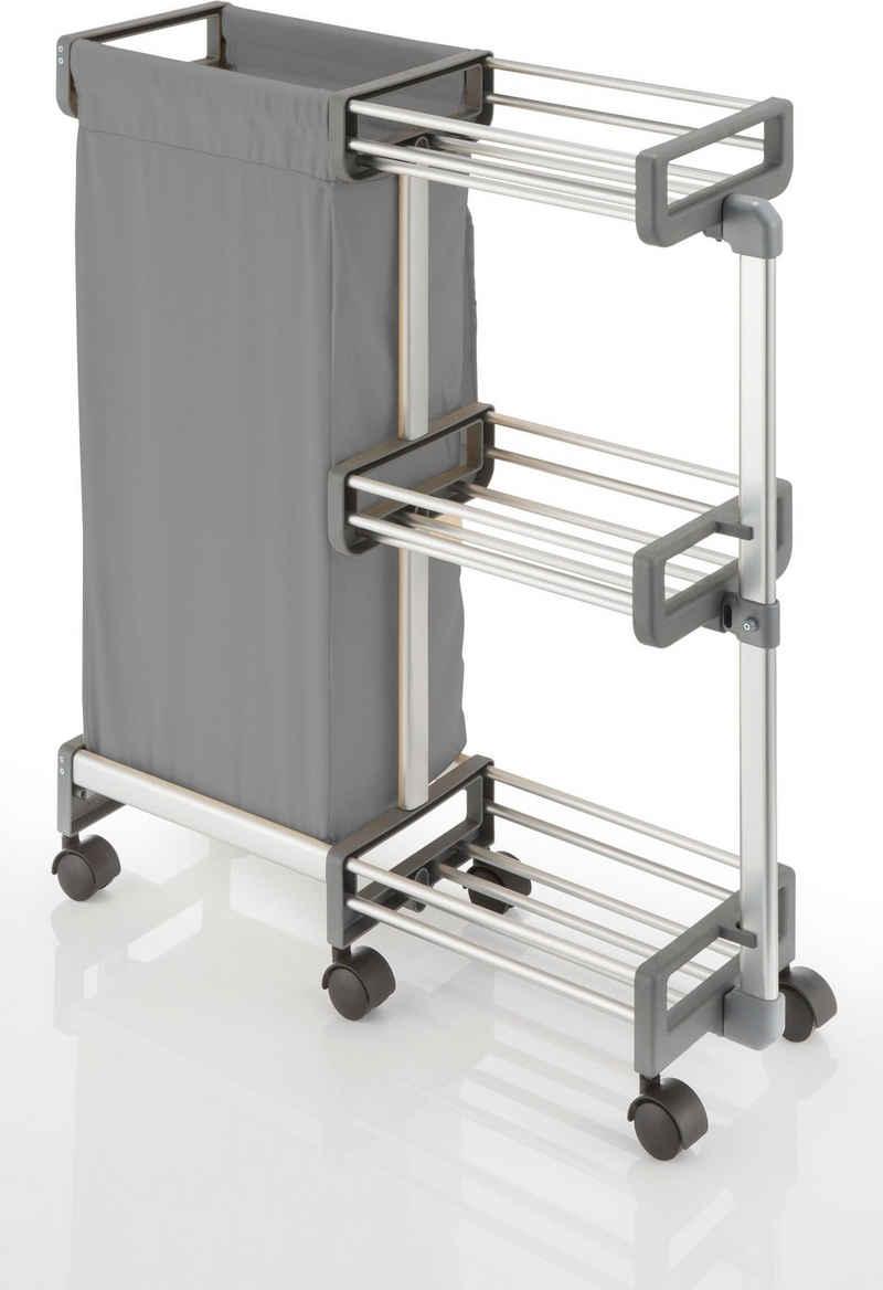 Ruco Regalwagen, Aluminium, für Nischen bis 20 cm