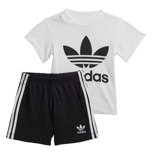 adidas Originals Jogginghose »Trefoil Shorts und T-Shirt Set«