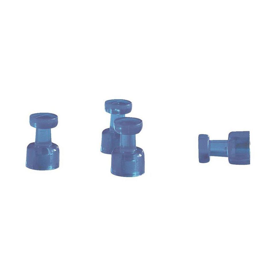 Franken 4er-Pack Memomagnete in dunkelblau