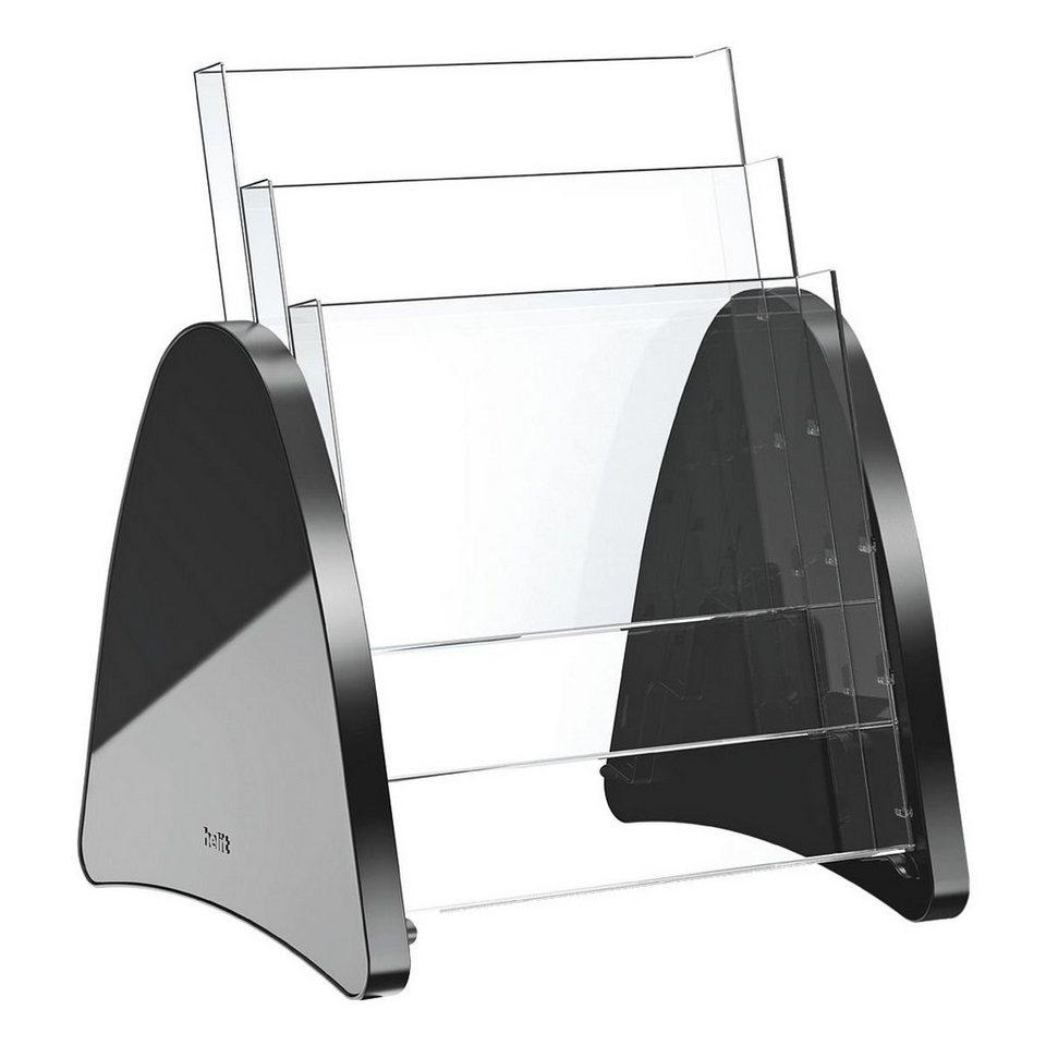 Helit Tischprospekthalter »Parabel« in schwarz