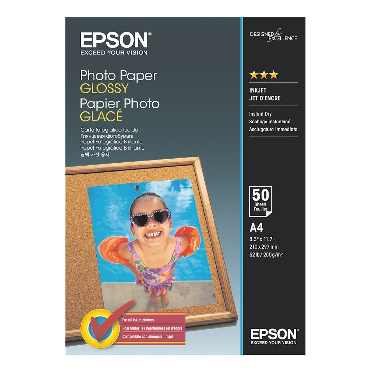 Epson Fotopapier »Photo Paper Glossy«