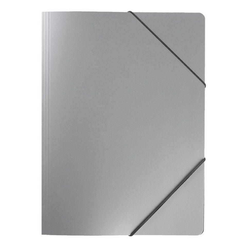 OTTO Office Premium Eckspanner »Black&Silver« in silber