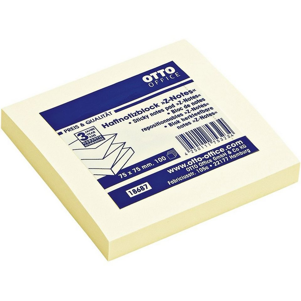 OTTO Office Standard Haftnotizblock »Z-Notes«
