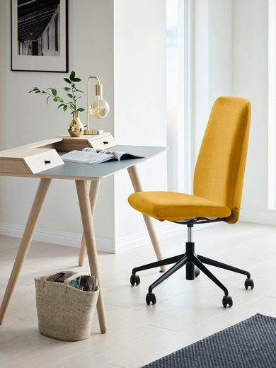 Stressless® Schreibtischstuhl »Laurel«, High Back, Größe L, mit Home Office Gestell in Schwarz matt