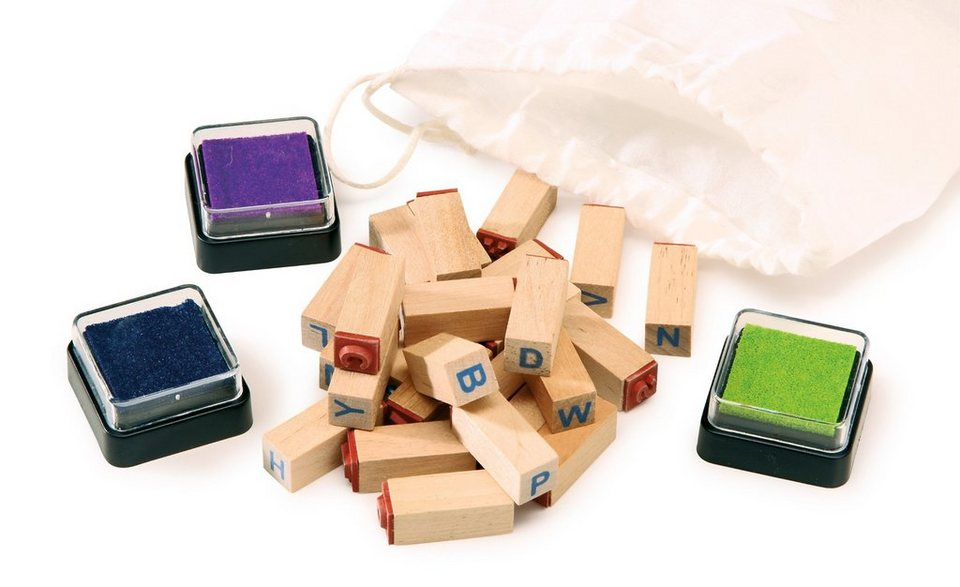 small foot stempel set buchstaben online kaufen otto. Black Bedroom Furniture Sets. Home Design Ideas