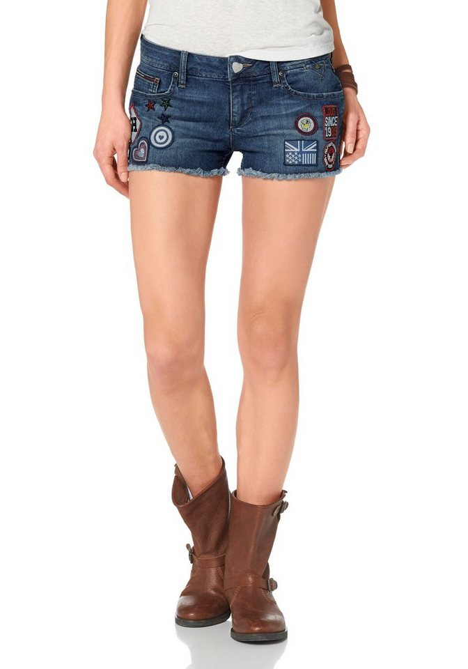 Hilfiger Denim Jeansshorts »Rosie« in Denim
