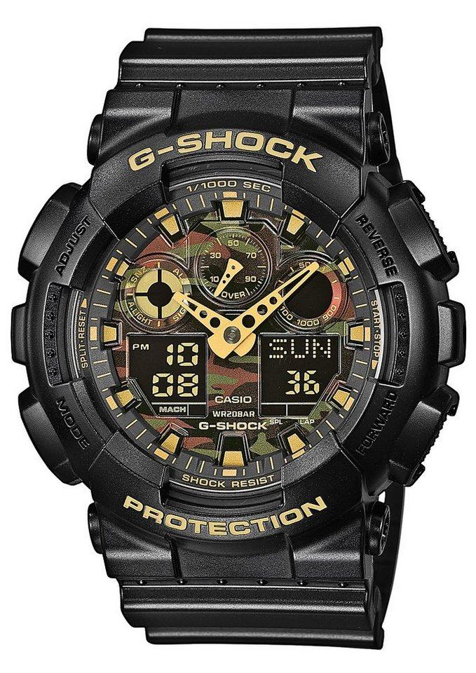 Casio G-Shock Chronograph »GA-100CF-1A9ER« in schwarz