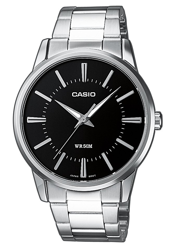 "Casio Collection, Armbanduhr, ""MTP-1303PD-1AVEF"" in silberfarben"
