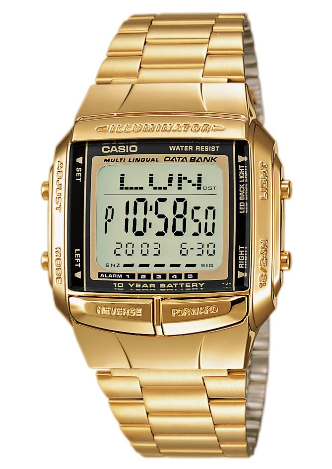 Casio Collection Chronograph »DB-360GN-9AEF« in goldfarben