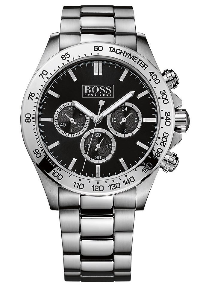 Boss Chronograph »IKON, 1512965« in silberfarben
