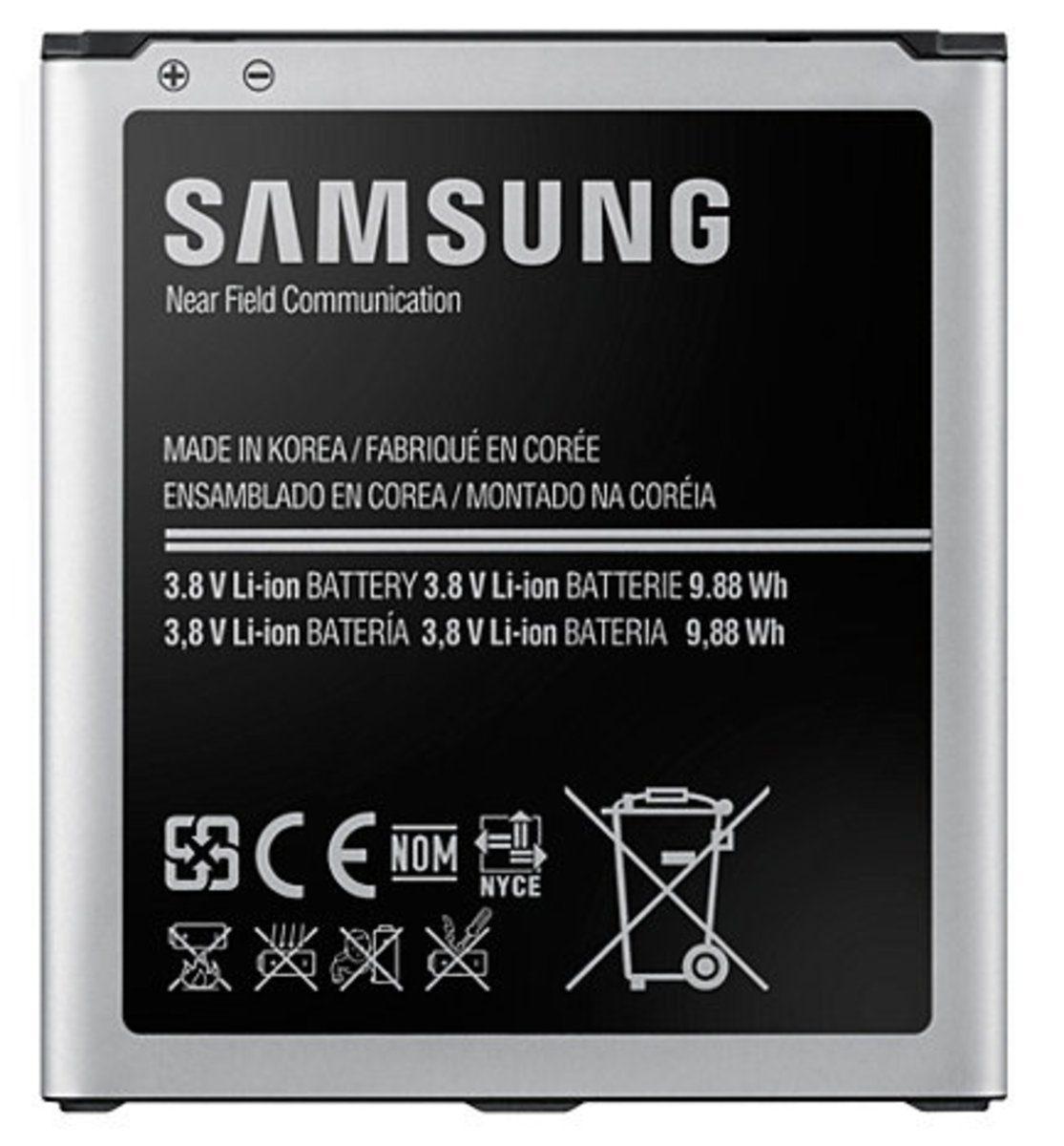 Samsung Batterie »Akku Li-Ion, 2.600 mAh EB-B600BE für Galaxy S4«