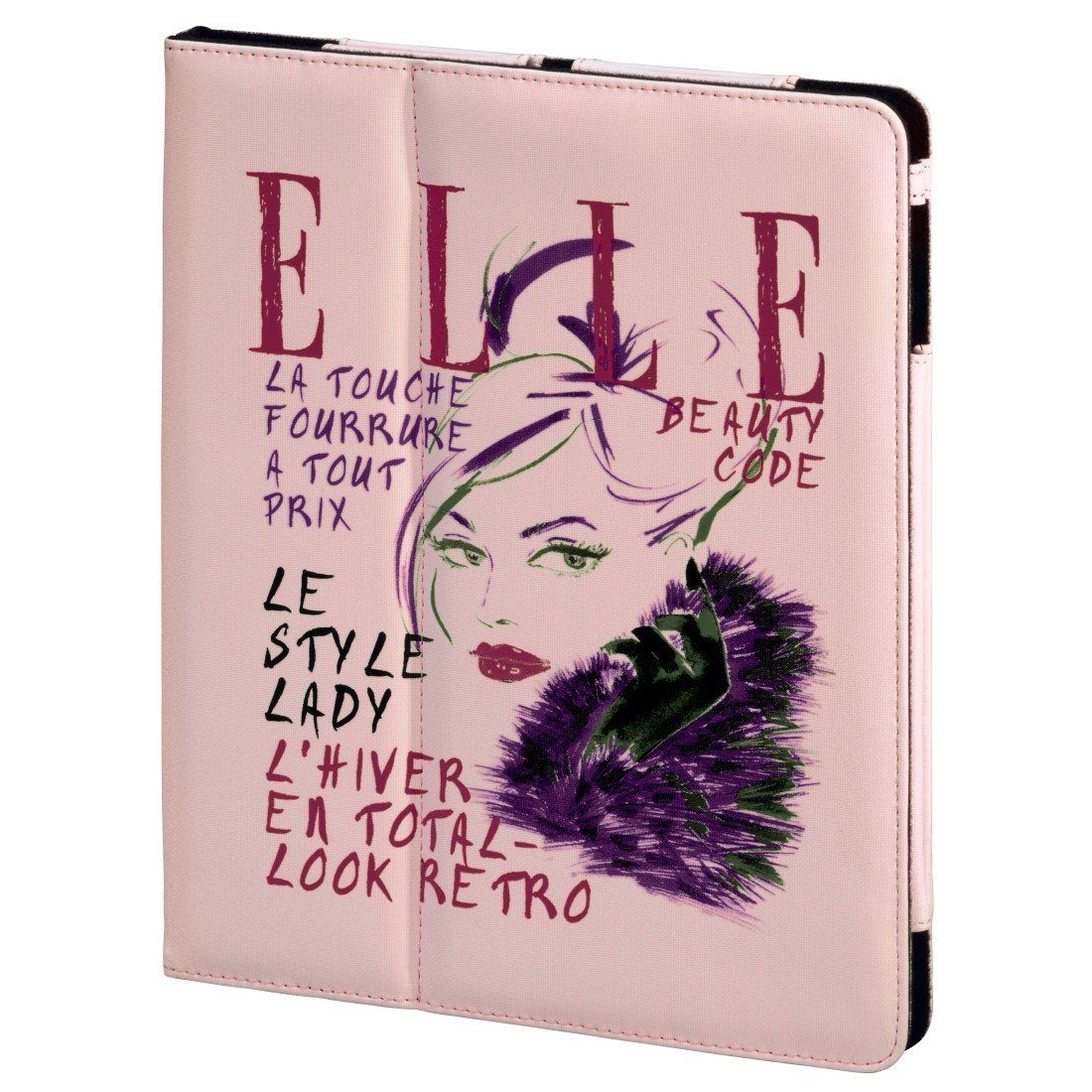 ELLE Portfolio Lady in Pink für Apple iPad Air, Pink