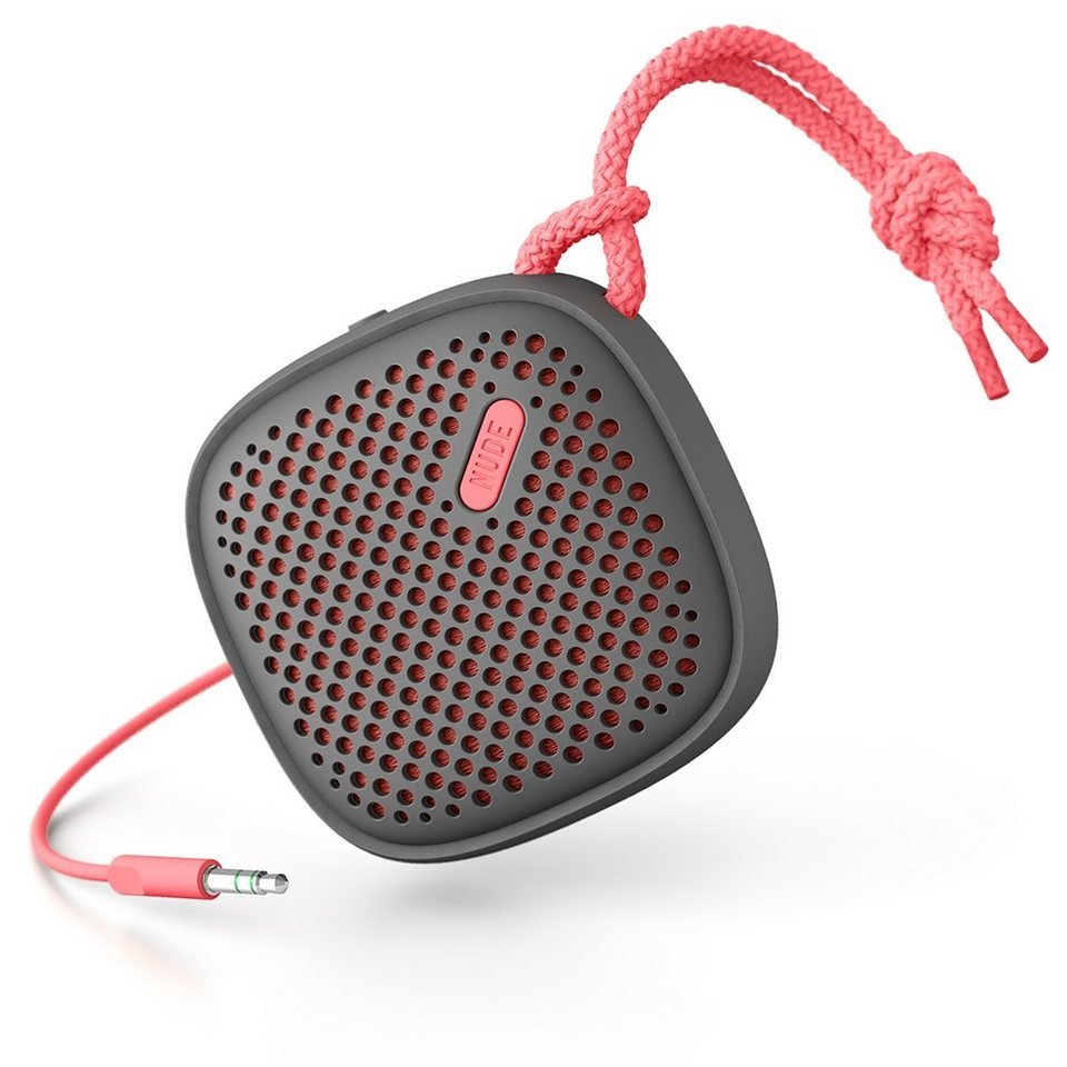 NudeAudio Audiosystem »MOVE S Wired Coral« in rot