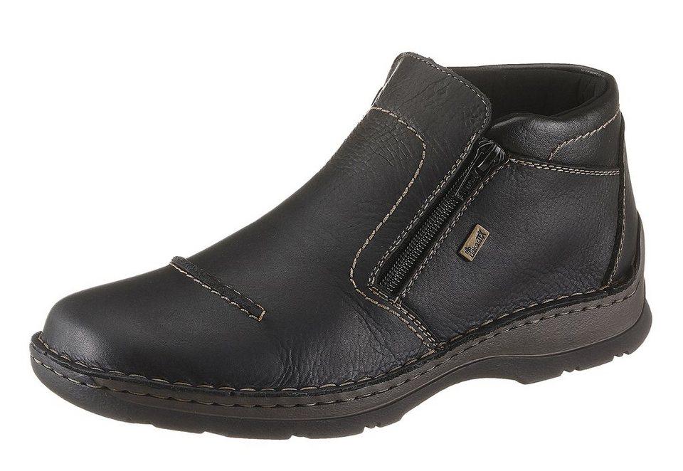 Rieker Boots mit Tex Ausstattung in schwarz
