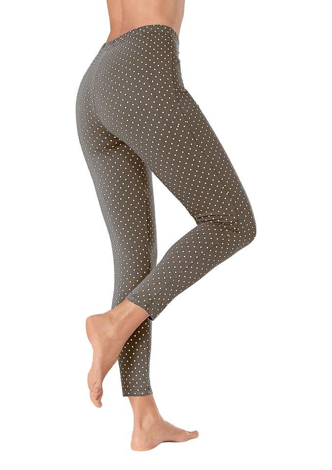 Damen Classic Basics Leggings in 7 8-Länge braun | 08698123230330