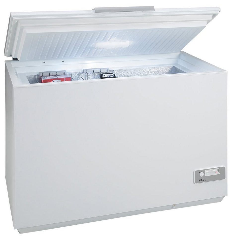 AEG Gefriertruhe ARCTIS A92300HLW0, A+++, 119 cm breit in weiß
