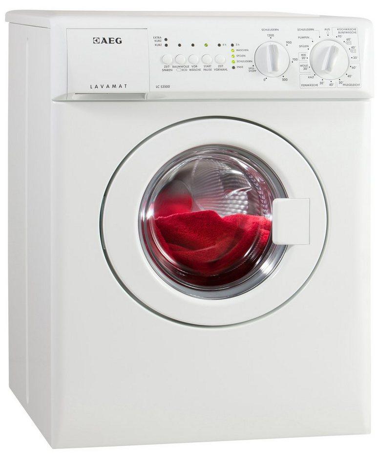 AEG Waschmaschine LC53500, A, 3 kg, 1300 U/Min