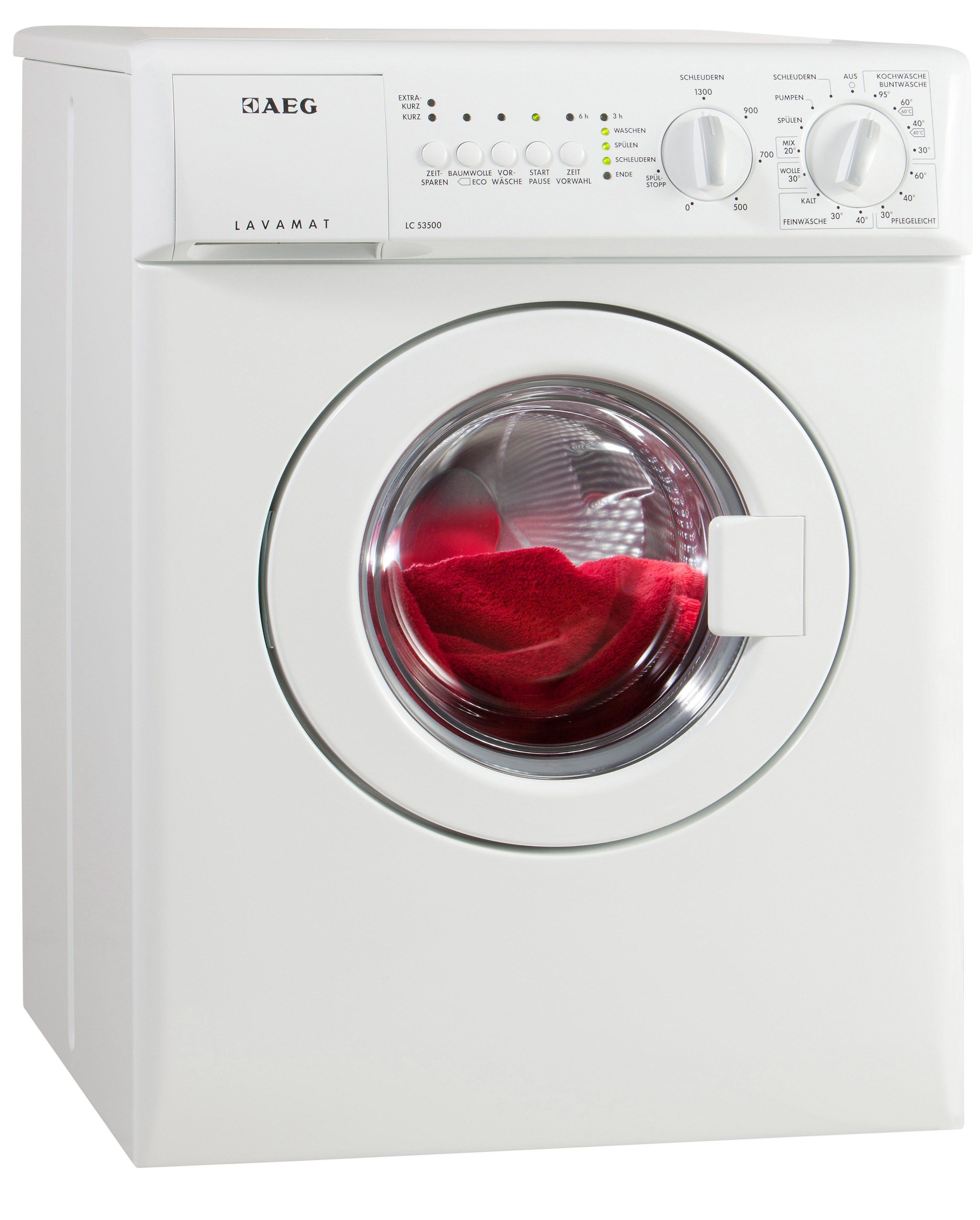 AEG Waschmaschine LAVAMAT LC53500, A, 3 kg, 1300 U/Min