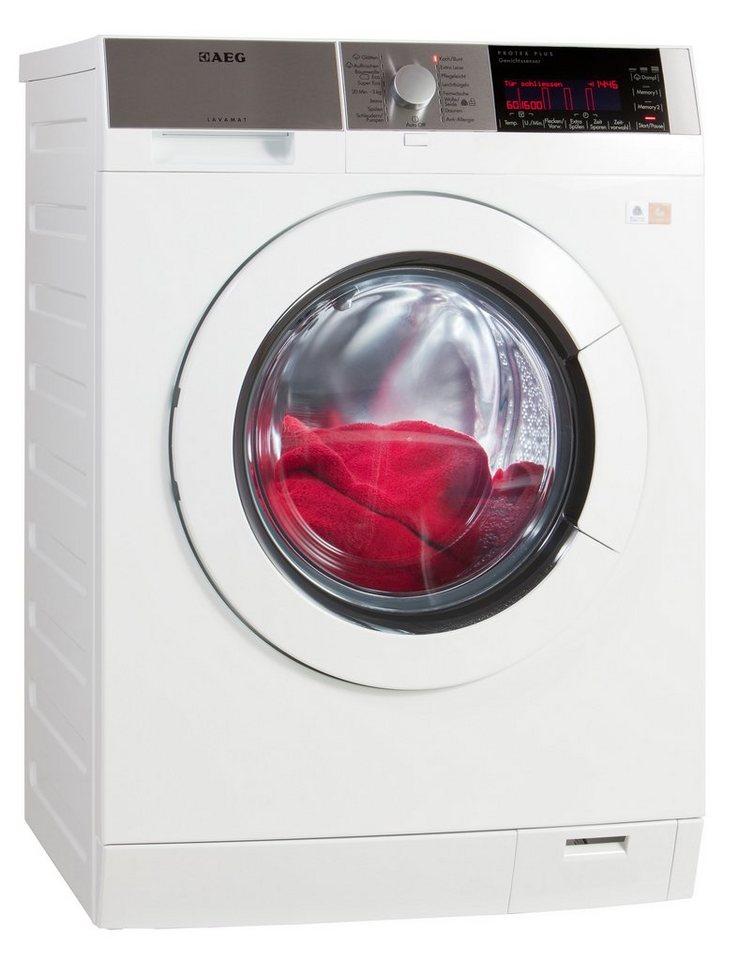 AEG Waschmaschine L98685FL, A+++, 8 kg, 1600 U/Min in weiß