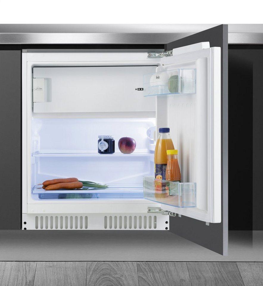 Amica Einbaukühlschrank UKS 16158, A++, Höhe max. 87 cm in weiß