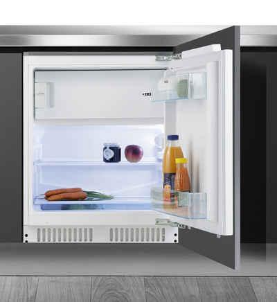 Amica Einbaukühlschrank UKS 16158, 81,8 cm hoch, 59,6 cm breit, Höhe max. 87 cm