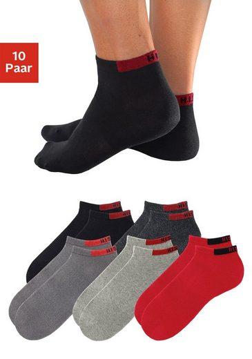 H.I.S Sneakersocken (10-Paar), mit verstärkten Belastungszonen