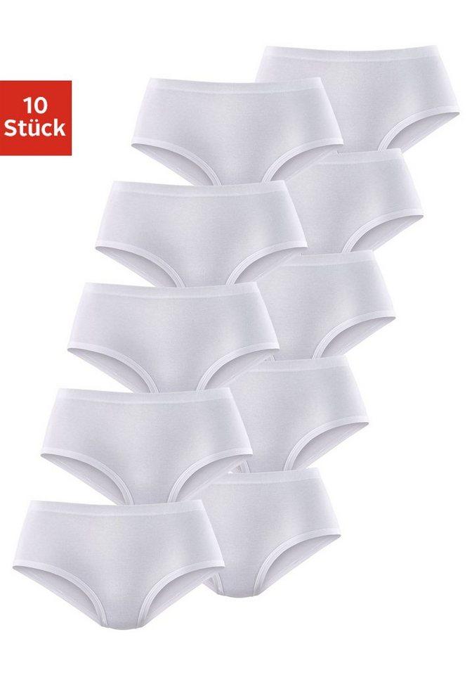 Petite Fleur Taillenslips (10 Stück) in weiß