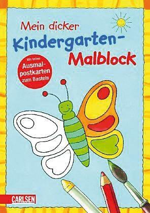 Carlsen Verlag Mein dicker Kindergarten-Malblock