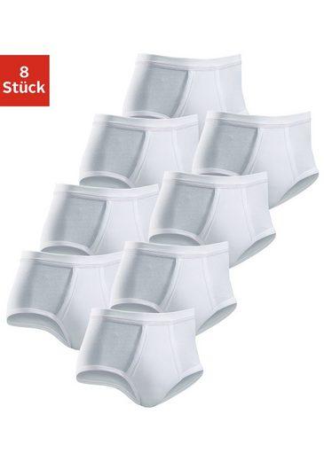 Clipper Slip (8 Stück)schlichtes Basic für jeden Tag aus Doppelripp