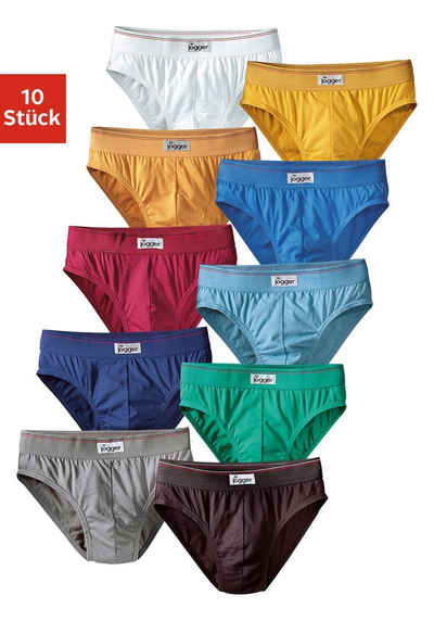 le jogger® Slip (10 Stück) nur einfarbig