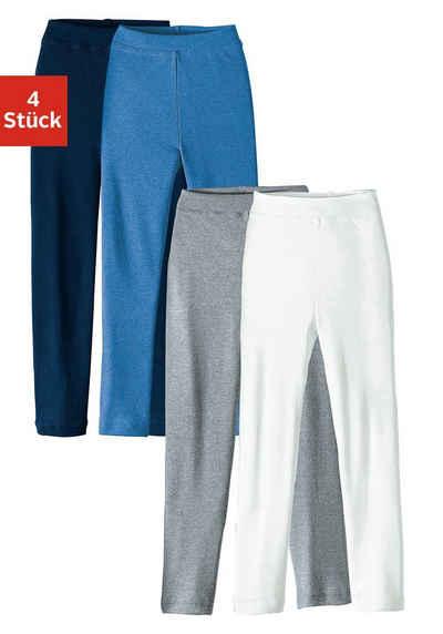Lange Unterhose (4 Stück) für Jungs und Mädchen