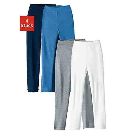 Leggings (4 Stück), für Jungs und Mädchen, auch als lange Unterhose tragbar