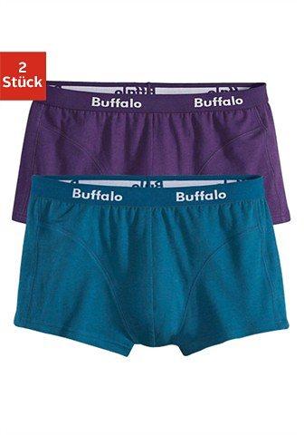 Buffalo Microfaser-Hipster (2 Stück) in petrol + lila