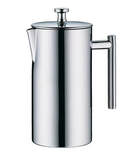 Kaffeezubereiter Edelstahl poliert mit integriertem Edelstahl-Feinsieb, Alfi