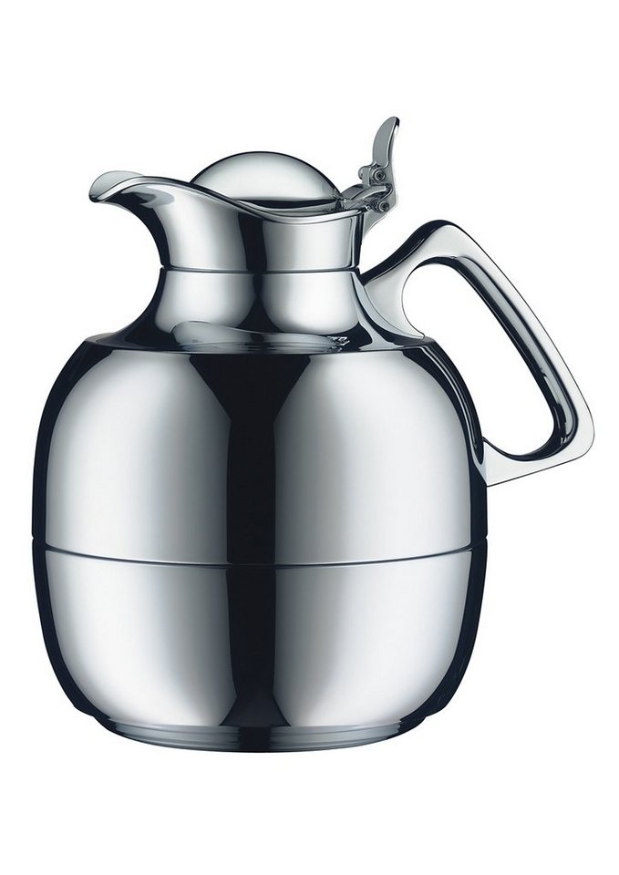 Isolierkanne, Messing verchromt, 1 Liter, »Juwel Tea«, Alfi