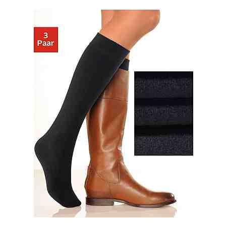 Damenwäsche: Socken: Kniestrümpfe