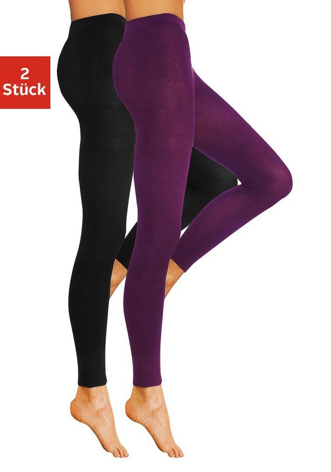 Lavana Basic Strickleggings...