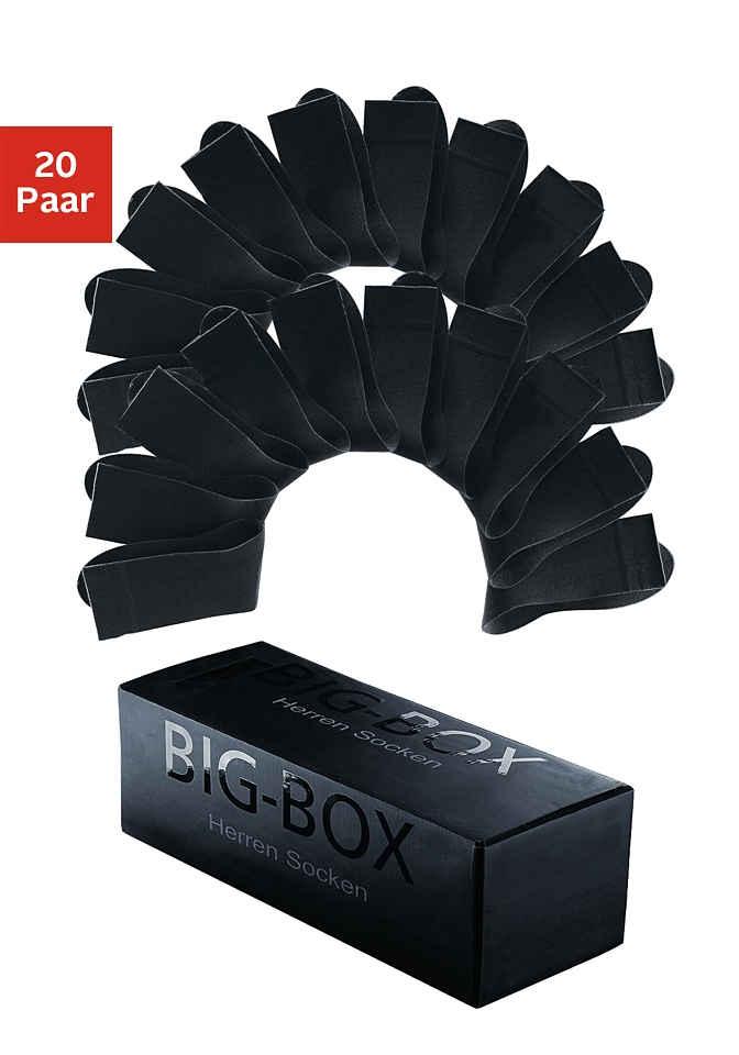 Cotton Republic Businesssocken (Box, 20-Paar) in der Big-Box