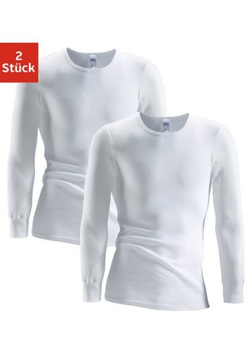 Clipper Unterhemd (2 Stück), schlichtes Basic für jeden Tag - in Doppelripp