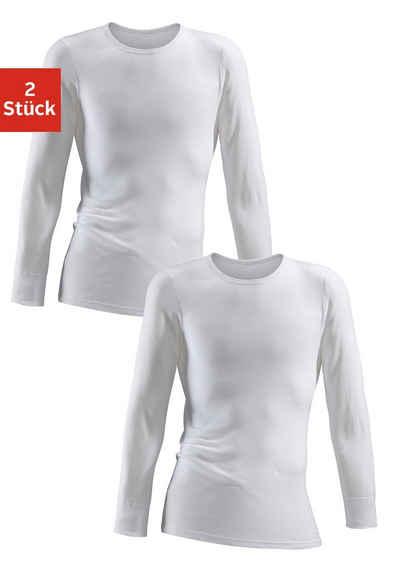 Clipper Unterhemd (2 Stück), schlichtes Basic für jeden Tag - in Feinripp