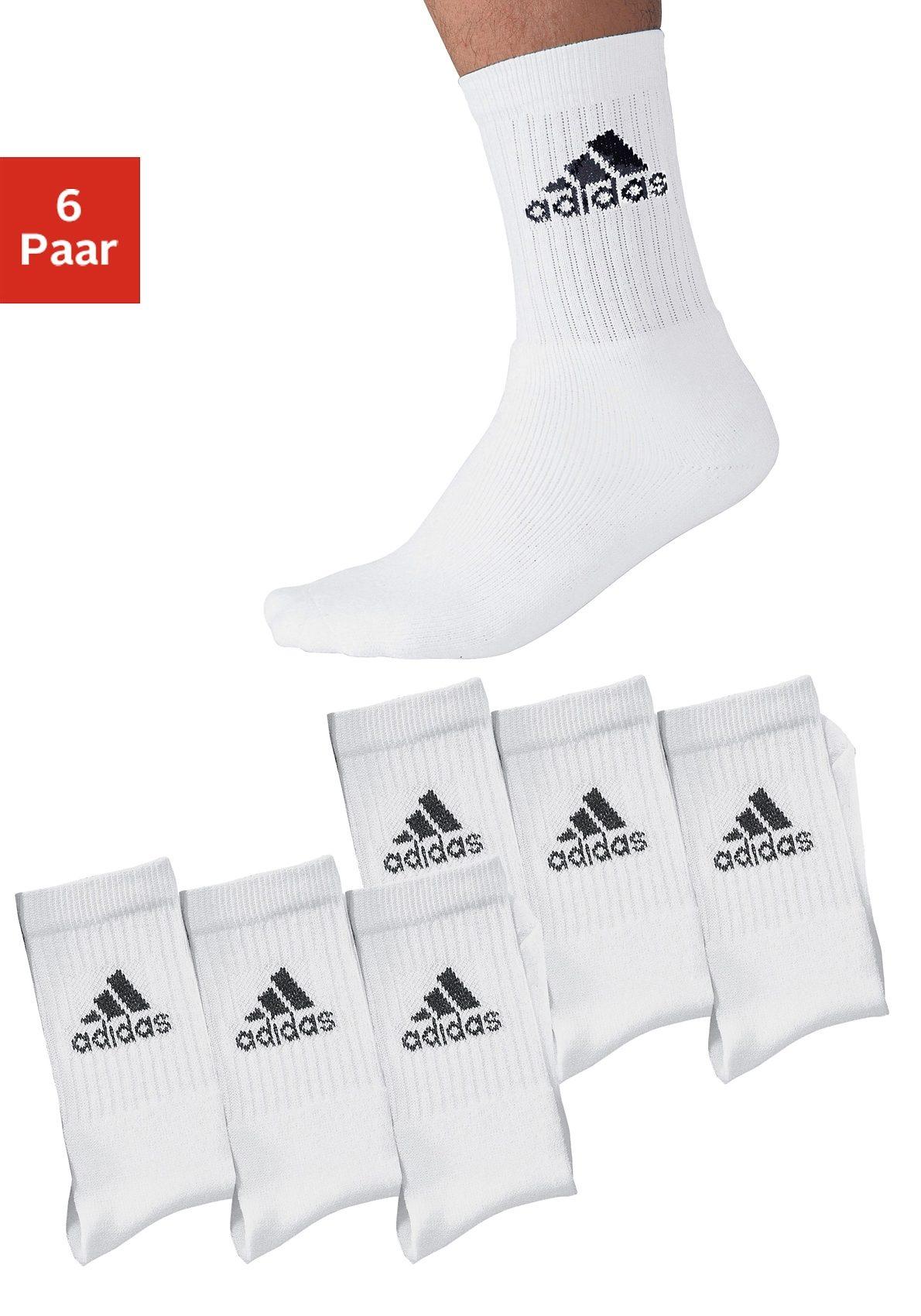adidas Performance Sportsocken (6 Paar) mit Frottee