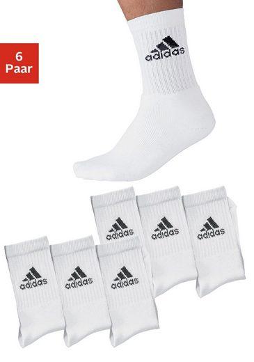 adidas Performance Sportsocken (6-Paar) mit Frottee