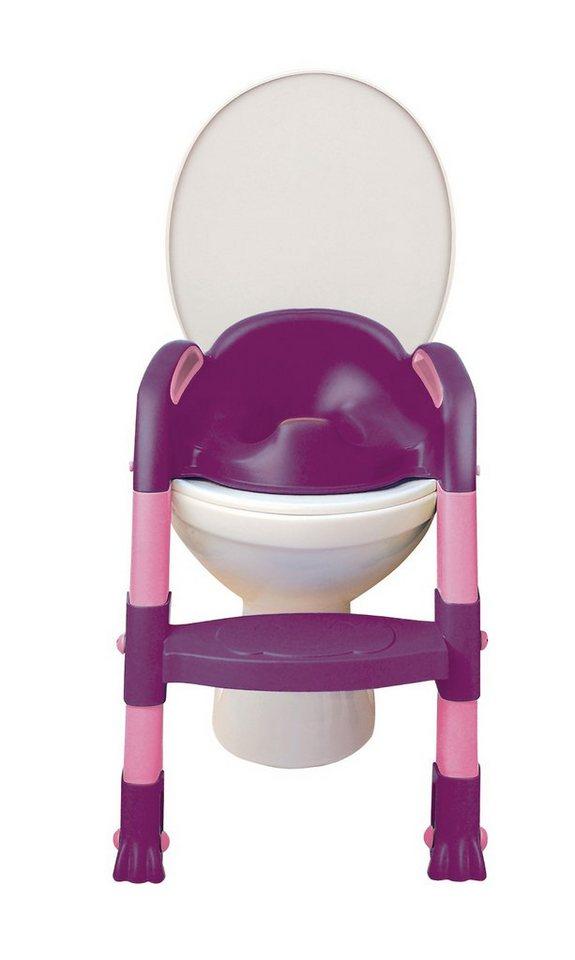 Funny Toilettentrainer Kiddyloo, lila/rosa in mehrfarbig