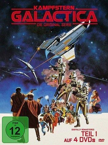 DVD »Kampfstern Galactica - Teil 1«