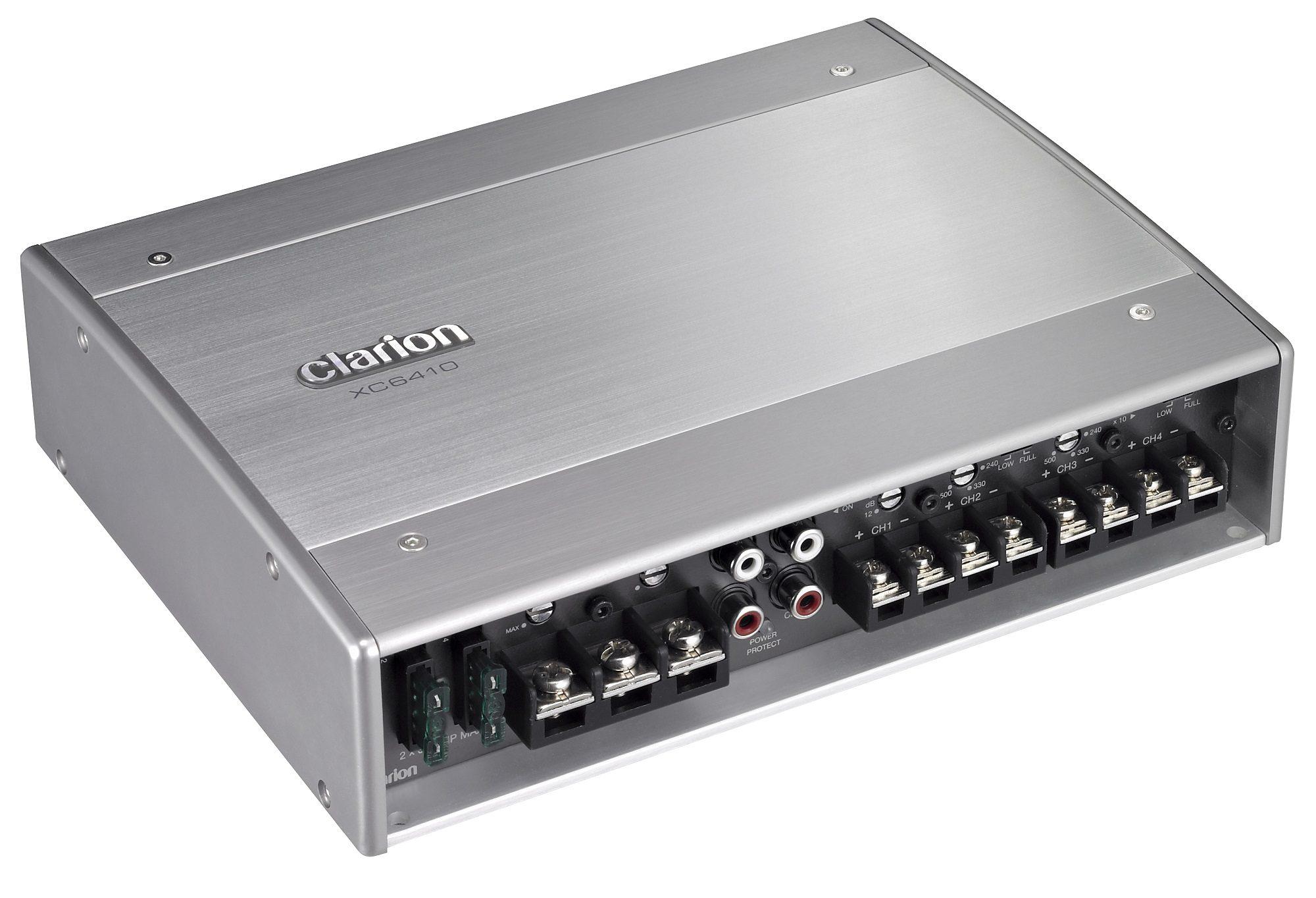 Clarion 4-Kanal Marine Kompaktendstufe »XC6410«