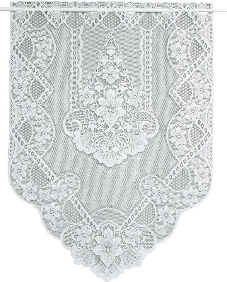 Scheibengardine, VHG, »Ronda« (1 Stück) in weiß