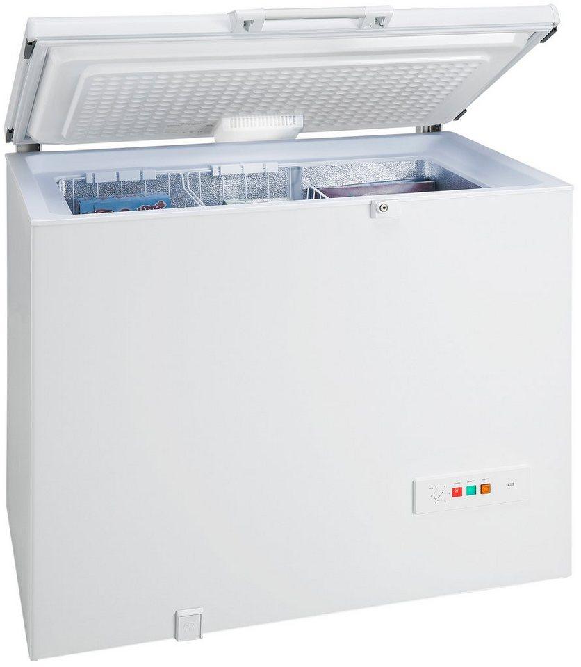 Siemens Gefriertruhe GC24MAW30, A++, 101 cm breit in weiß