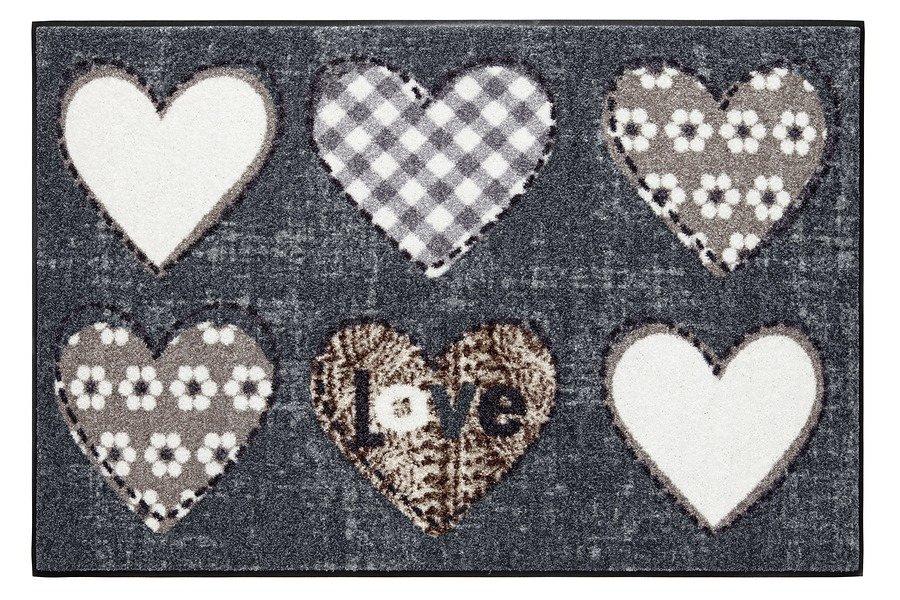 Fußmatte »Lovely« in grau